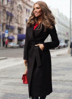 Palton Freddo Negru marca Chic Diva pentru femei