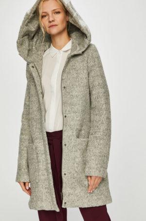 Palton casual cu gluga gri calduros si confortabil captusit pe interuor perfect pentru zile reci de iarna Review